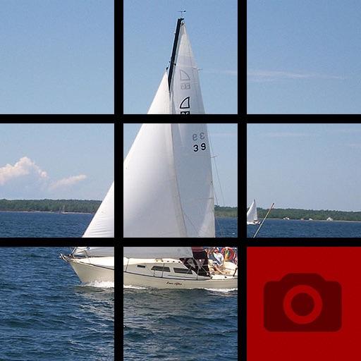 Picture Tile Slider At Sea