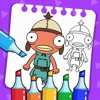 Colortnite Art - Nite Coloring - iPadアプリ
