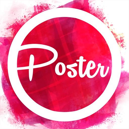 Poster Flyer Maker Icon Design