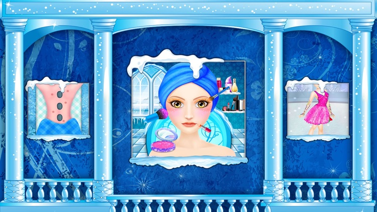 Ice Skating Girl Makeup screenshot-3