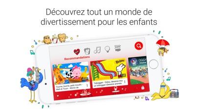 Screenshot for YouTube Kids in France App Store