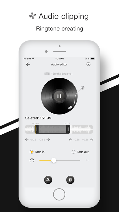 벨소리 메이커 - 노래 및 음악편집,mp3 변환기 for Windows