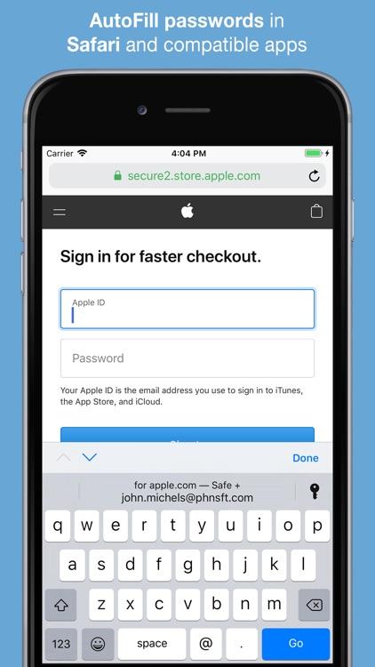 Safe +  Password Manager screenshot-5