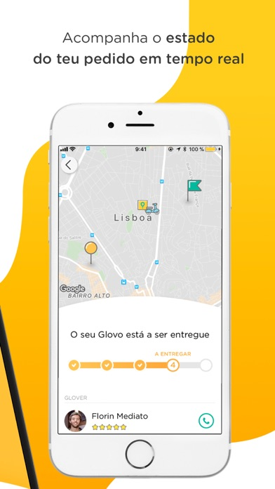 Screenshot for Glovo in Portugal App Store