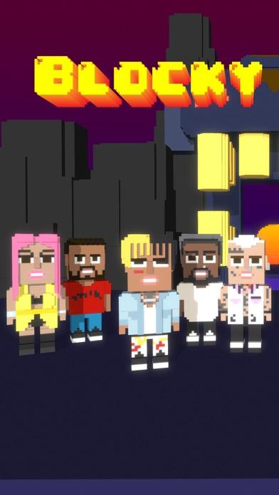 Screen Shot Blocky Gang Run Of The Tomb 0