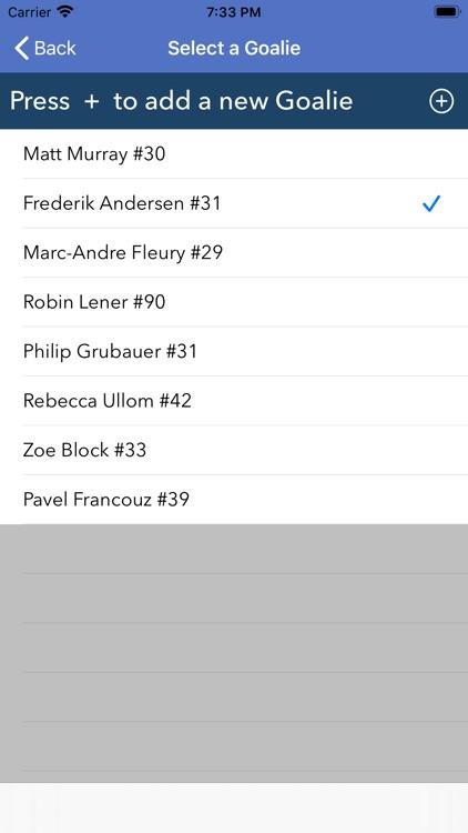 Goalie Rebound Tracking screenshot-5