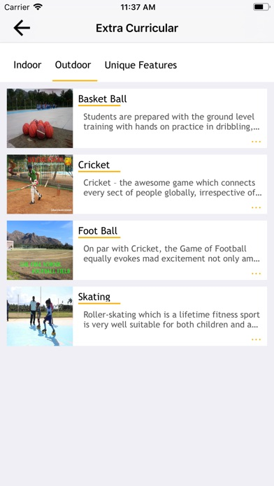Screenshot of LHL CBSE SCHOOL App