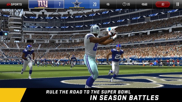 Madden NFL Overdrive Football screenshot-1