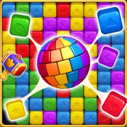 Cartoon Cube Blast Puzzle