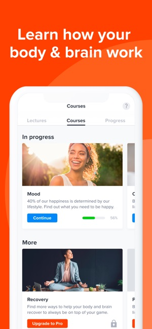 Welltory: stress self care app Screenshot