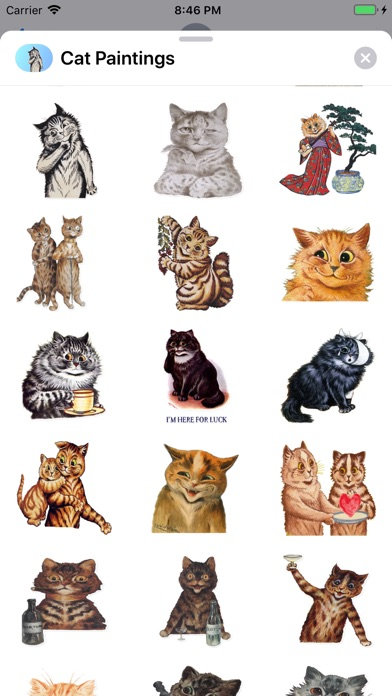 Screenshot for Cat Paintings - Cat Drawings in Peru App Store