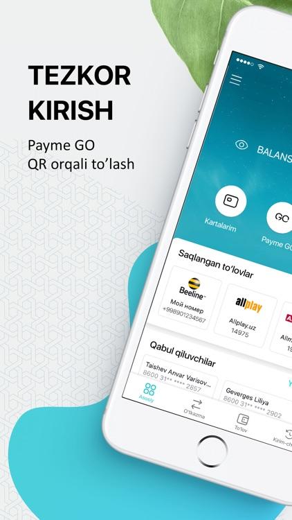 Payme - платежи и переводы screenshot-0