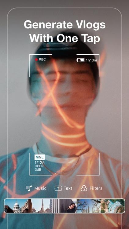 VCUS - Video & Vlog Editor screenshot-0