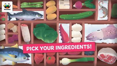 Screenshot of Toca Kitchen Sushi App