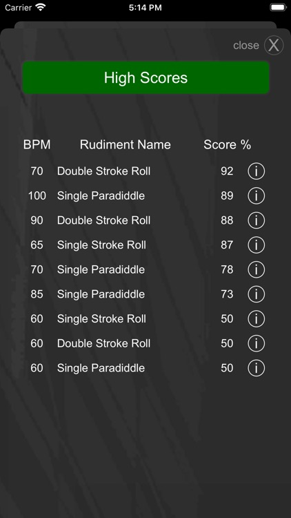 Drummer ITP - Rudiment Trainer screenshot-5