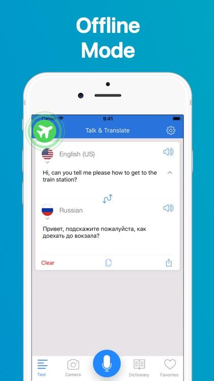 Talk & Translate Translator screenshot-4