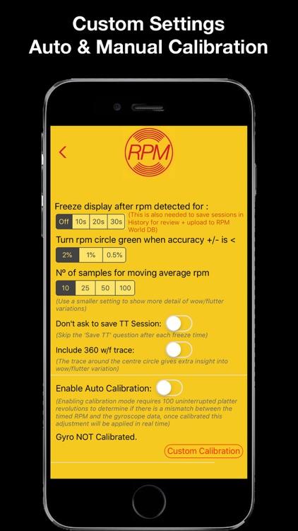 RPM - Pro Turntable Accuracy screenshot-6