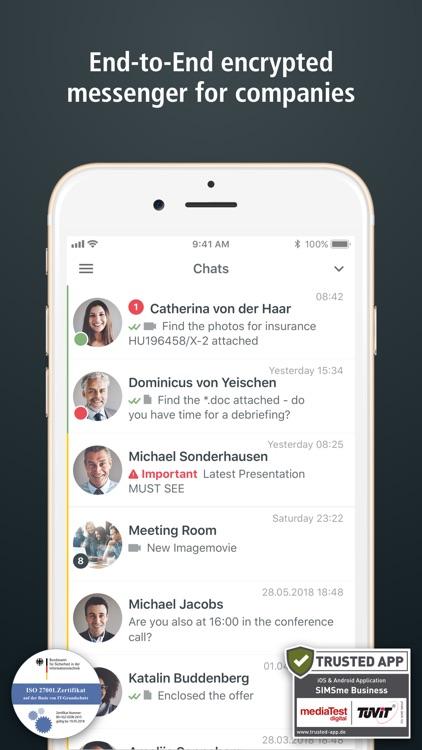 SIMSme Business screenshot-0