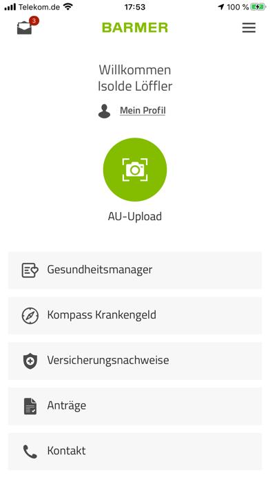 messages.download BARMER-App software
