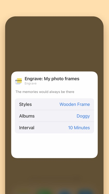 Engrave -My Photo Frame Widget screenshot-9