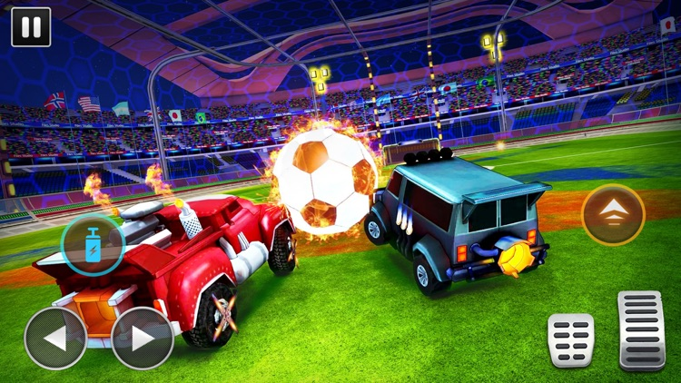 Turbo Cars League Soccer Mania screenshot-3