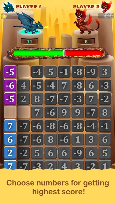 Screenshot for Dragon Numbers in Argentina App Store