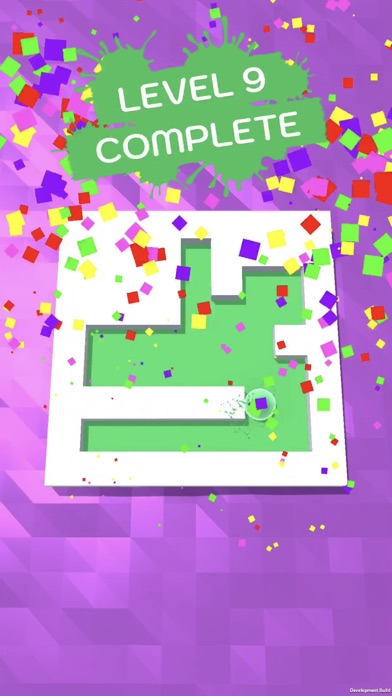 Screenshot of Roller Splat! App