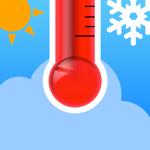 Виджет «Термометр» Simple на пк