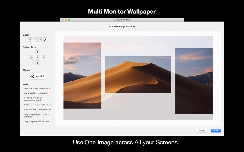 Screenshot #1 for Multi Monitor Wallpaper