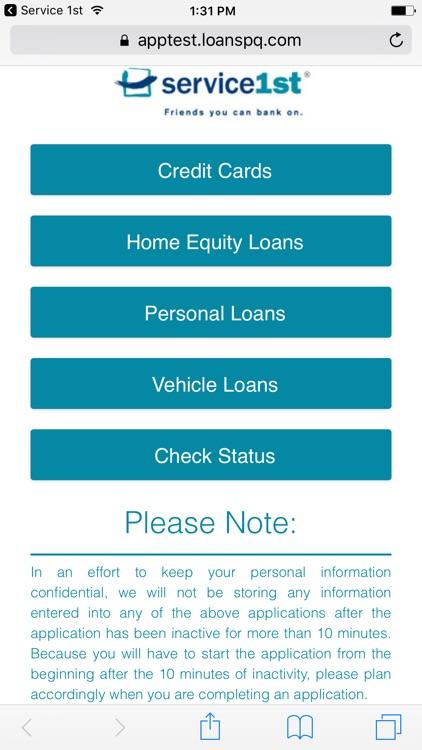 Service 1st Mobile Banking screenshot-8