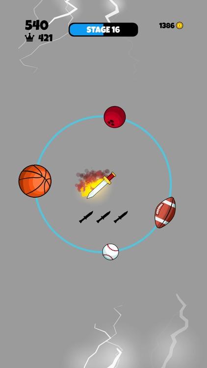 Knife vs Balls screenshot-3
