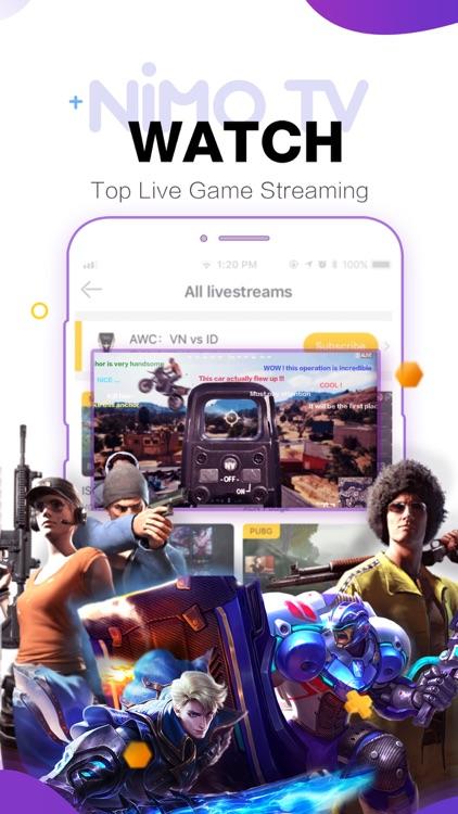 Nimo TV-Play. Live. Share. screenshot-3