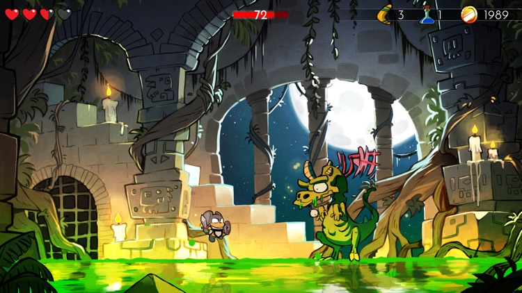Wonder Boy: The Dragon's Trap screenshot-3