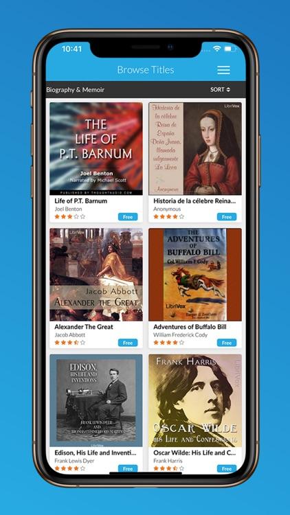 Audio Books & Novels screenshot-4