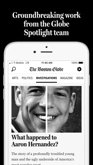 The Boston Globe on the App Store