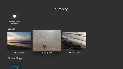 Screenshot #1 for Tumbify