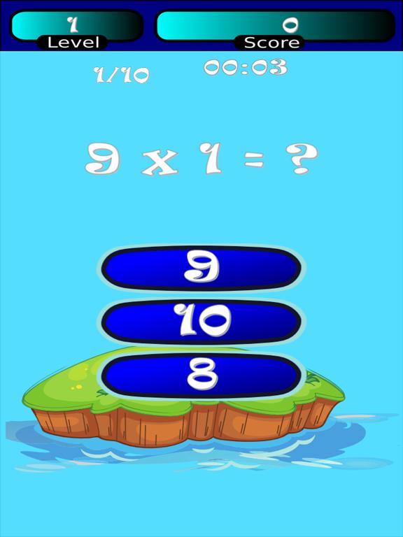 Times Tables Math Trainer SD screenshot 7