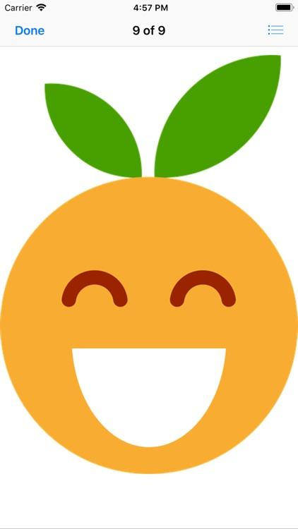 Clementine Stickers screenshot-9