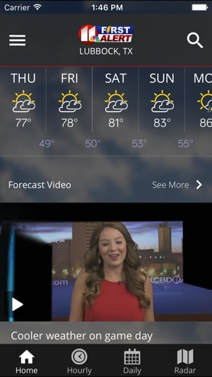 Kcbd First Alert Weather On The App Store