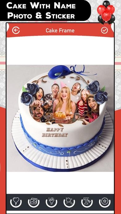 Cake With Name Photo & Sticker screenshot one