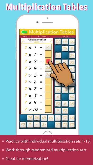 Multiplication Tables - Math screenshot 1