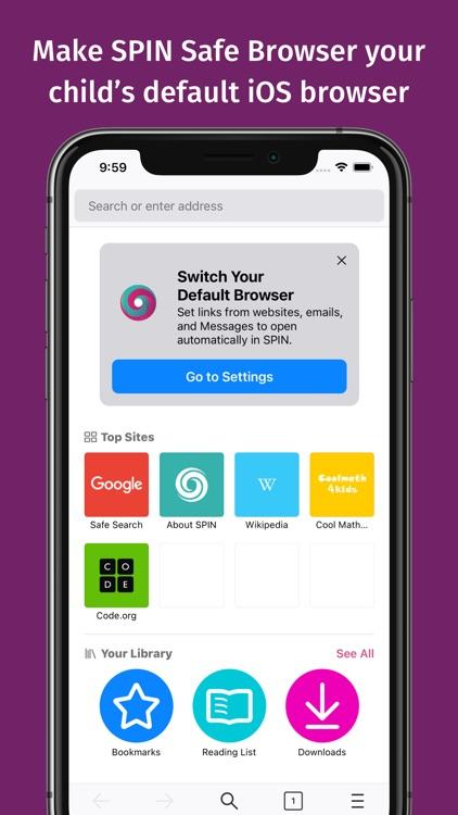 SPIN Safe Browser screenshot-4