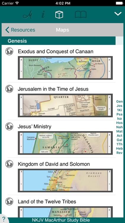 MacArthur Study Bible - NKJV screenshot-3