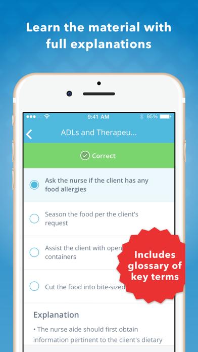 CNA Mastery: Nursing Assistant Screenshot