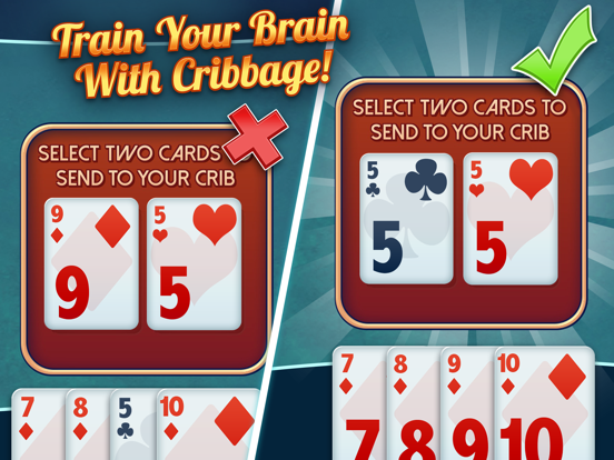 Ultimate Cribbage - Play the Classic Card & Board Game Free screenshot