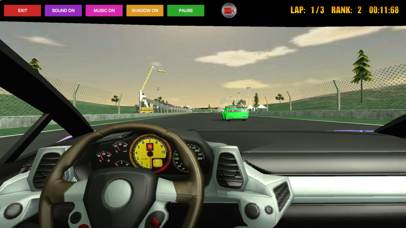 Sport Car Racer 3D screenshot 3