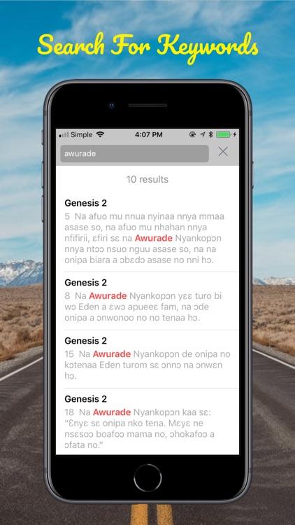 Twi Bible Akuapem screenshot-7