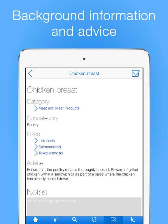 Pregnancy Food Guide PRO Screenshots