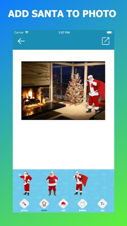 Add Santa to your photo
