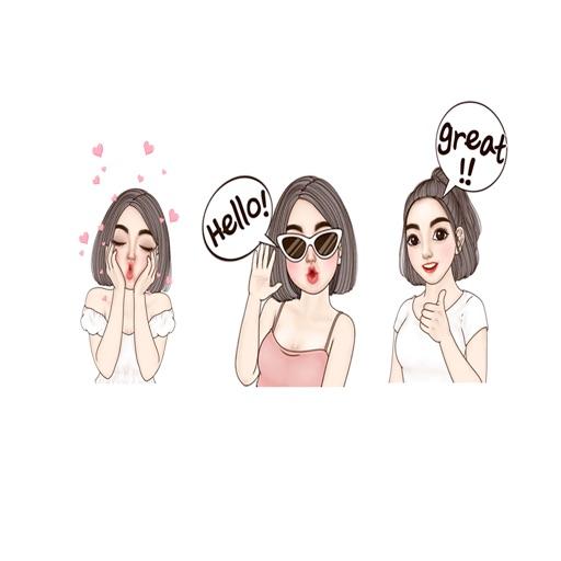 Yuri Girl Stickers